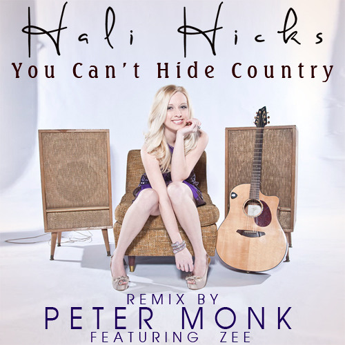 Hali Hicks - You Cant Hide Country (feat Zee) (Peter Monk Radio Remix)