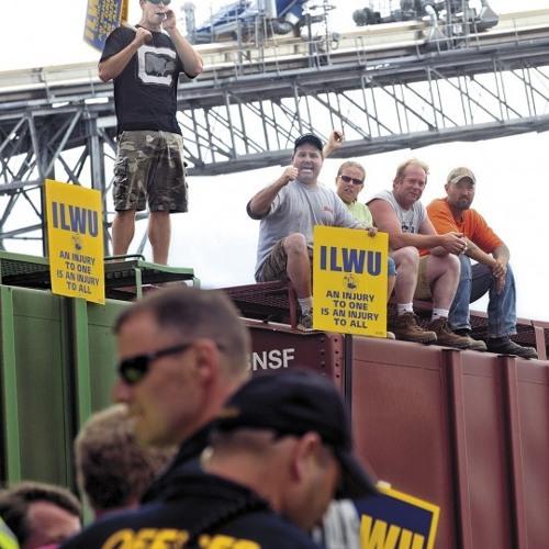 WW1-13 -15 ILWU West Coast Contract Fight With ILWU 8 Retiree  Norm Parks