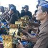Gamelan Angklung during cremation ceremony, Kuta Beach, Bali (2011)