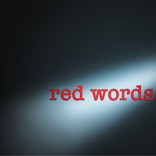red words