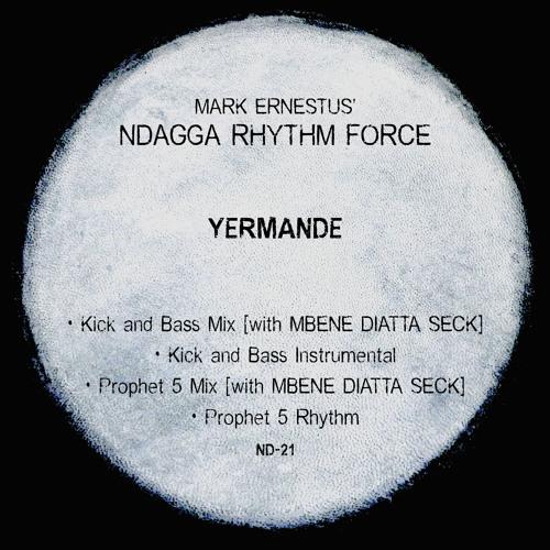 Mark Ernestus' Ndagga Rhythm Force: Yermande (Kick And Bass Instrumental) (clip)