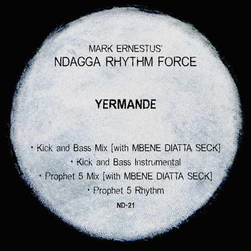 Mark Ernestus' Ndagga Rhythm Force: Yermande (Kick And Bass Mix) (clip)