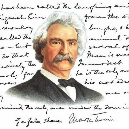 In the Words of Mark Twain