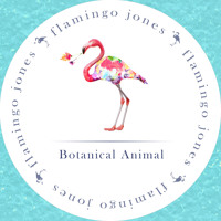 Flamingo Jones Botanical Animal Artwork