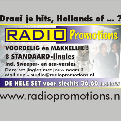 Demo Standaard (holl) HITS 02 8 Piece RadioPromotions