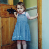 Esme, aged 2 (in 1996) Singing About Hercules