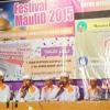 Ahmad Ya Habibi - Shollu Alan Nabiy [UKM Remo] Unnes In Festival Rebana UMK 2015