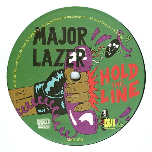 major lazer - hold the line(mosound remix)2009