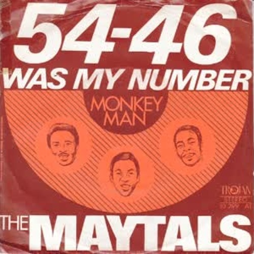Toots and the maytals - My Number (Dardet Remix)