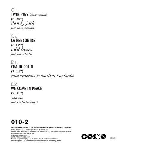 C2- Adil Hiani Feat. Adam Hadni - La Rencontre (Snippet)