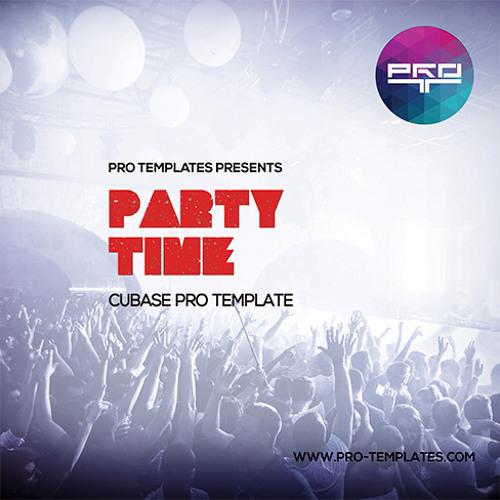 Party Time Cubase Pro Template