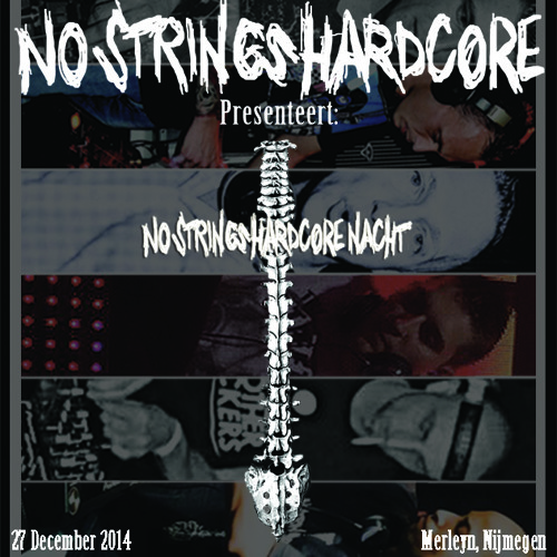 Animal Tag / No Strings Hardcore Nacht, December 27th 2014