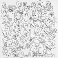 Romare Prison Blues Artwork