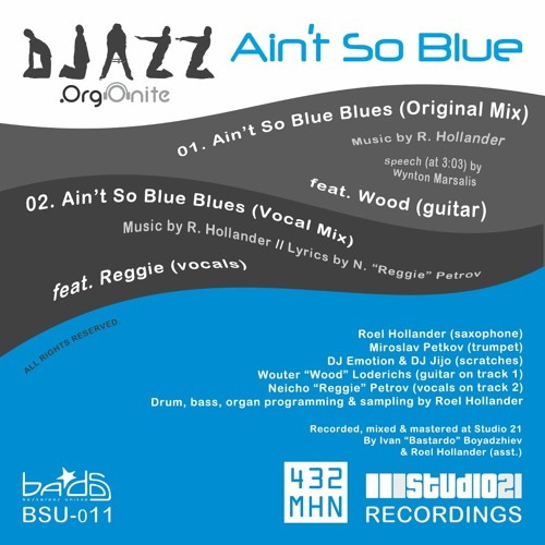 DJazz feat. Wood (& Marsalis) - Aint So Blue Blues (Original Mix) - [MHN TCP]