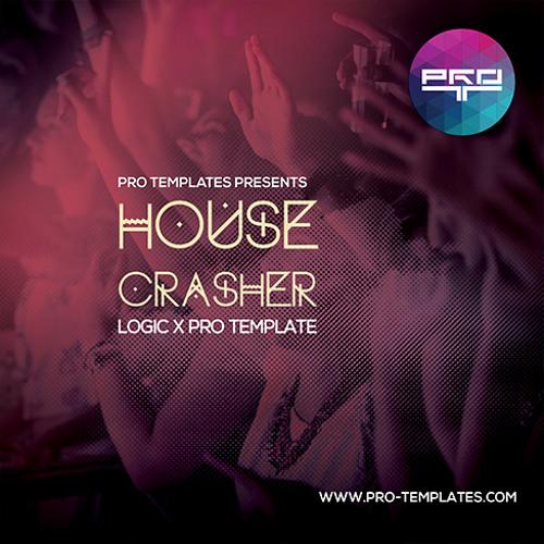 House Crasher Logic X Pro Template
