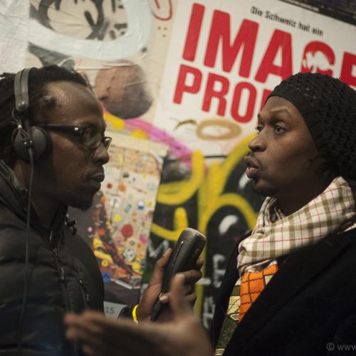 «pl3in le poste» sur Couleur3 avec Xuman (Senegal)