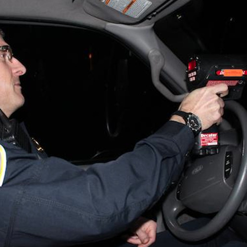 Ride along with the Stinesville town marshal