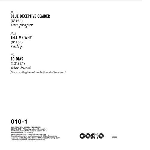 5YEARSOFCOSMO - San Proper, Radiq & Pier Bucci (Cosmo010-1)