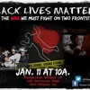 Black Lives Matter We Must Fight A War On Two Fronts Jan 11