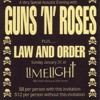 Guns N' Roses ''One In A Million'' @ The Limelight - New York, NY (01.31.88)