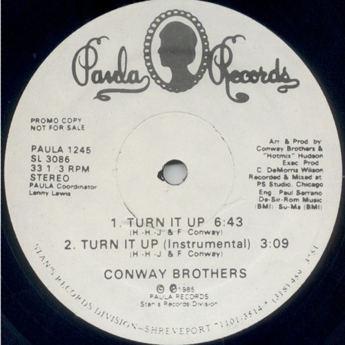 Conway Brothers - Turn It Up (Instrumental) (chris baron edit)