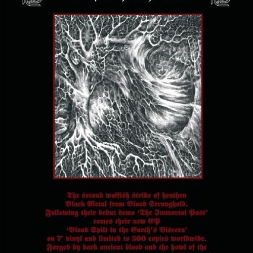 BLOOD STRONGHOLD Blood Spilt In The Earths Viscera
