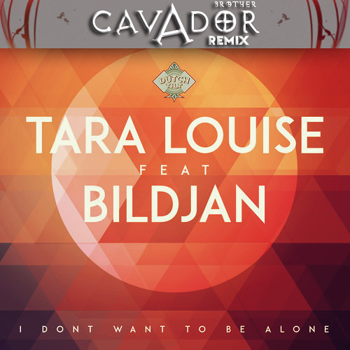 Tara Louise ft Bildjan - I Don't Want To Be Alone   Brother Cavador remix (3rd place winner)