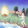 Sit Around The Campfire (A Children's Camp Song)