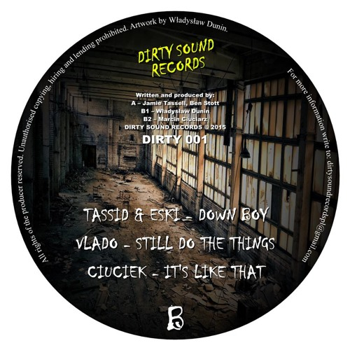 Ciuciek- Its like that  ## OUT NOW ON DIRTY SOUND RECORDS ##