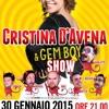 Cristina d'Avena & Gem Boy in concerto al Piper Club 30 Gennaio 2015