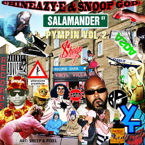 $ALAMANDER PYMPIN' VOL. 2: Sittin' On The Dock Ov The Bay