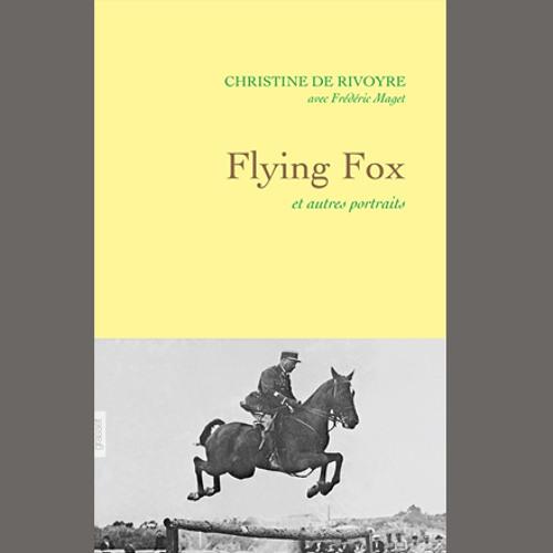 """Christine de Rivoyre et Frédéric Maget, """"Flying Fox"""" - Grasset // Rencontre du 27 janvier 2015"""
