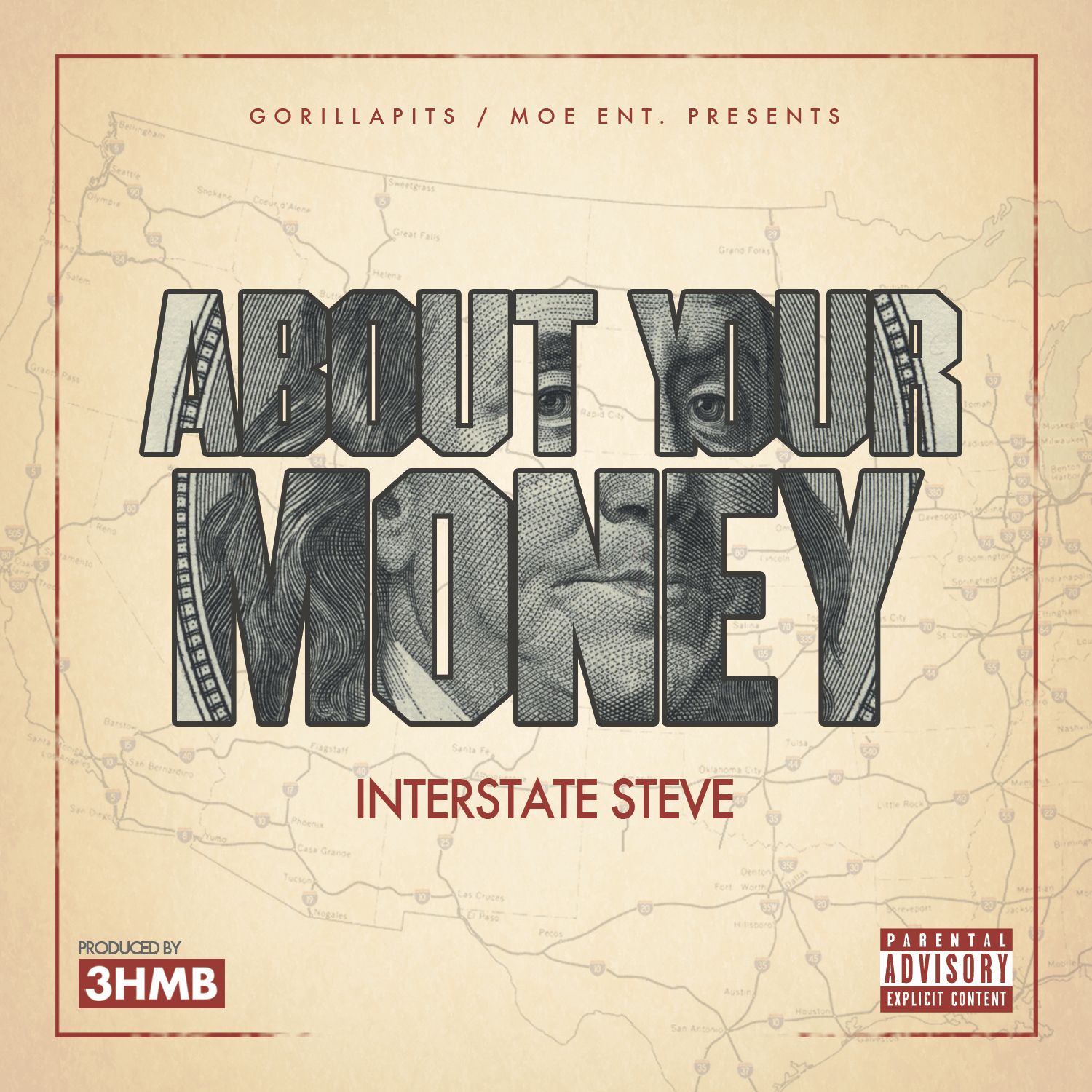 Interstate Steve - Be About Ya Money (Produced by 3HMB) [Thizzler.com]