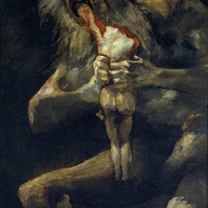 Saturn Devouring His Son KS Dark Thematic