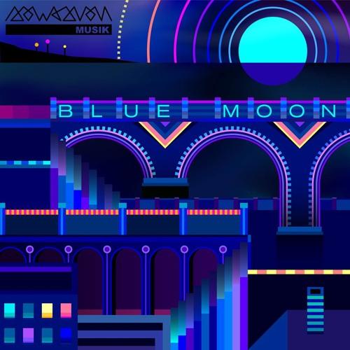 """V.A. SOWASVON """"Blue Moon"""" Album Compilation (SOWASVON SWSVN007)"""