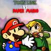 Toon Link vs Paper Mario