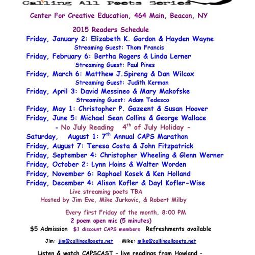 CapsCast, V2#7 Paul Clemente & Michael Sean Collins  3/1/13