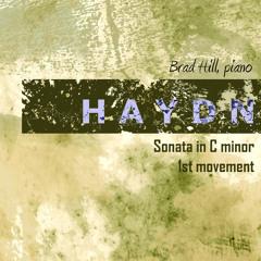 Haydn Sonata in C minor, first movement