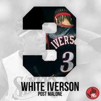 Post Malone White Iverson Artwork