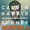 Calvin Harris - Summer - Acapella - Download
