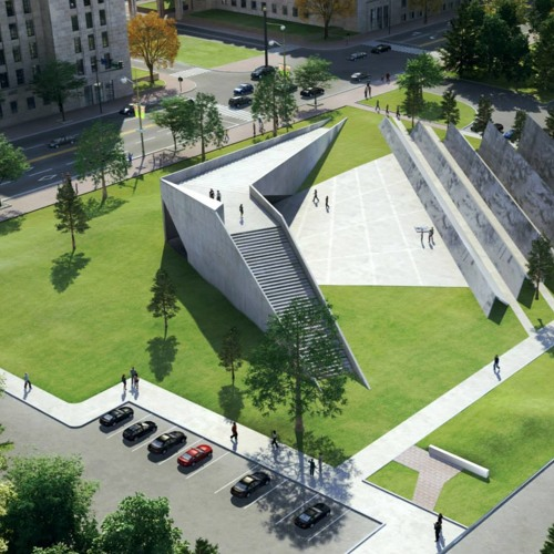 Allan Teramura of the RAIC on Canada's communism memorial