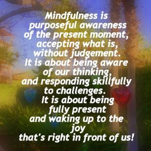 Day 2 Journey into Mindfulness by Melissa Smith