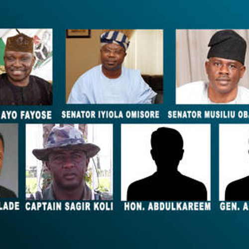Secret  Meeting  With Nigerian Army General That Rigged Ekiti Election For Fayose