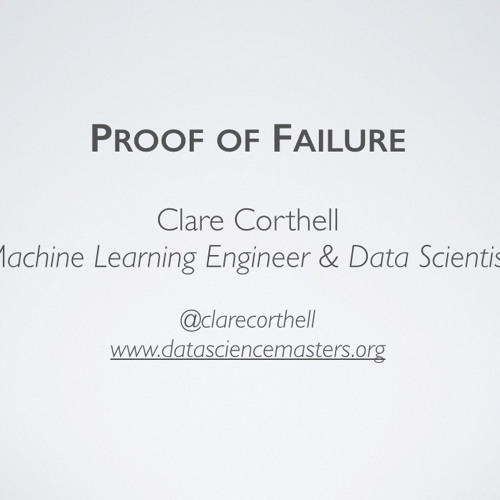 User-Operated Model-Building Systems - Data Science: Inconvenient Truths