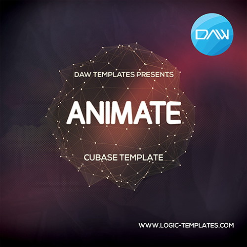 Animate Cubase Template