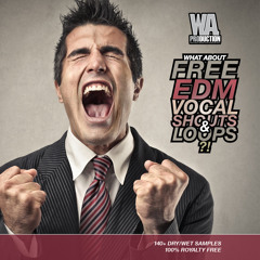 W. A. Production - What About Free EDM Vocal Shouts & Loops Preview