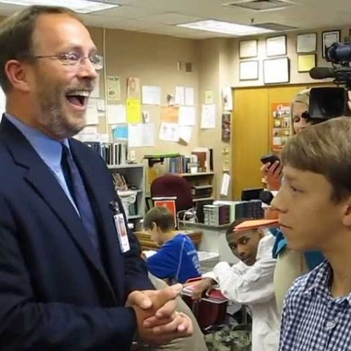 Steve Perkins: Indiana Teacher of the Year for '14, Headbanger