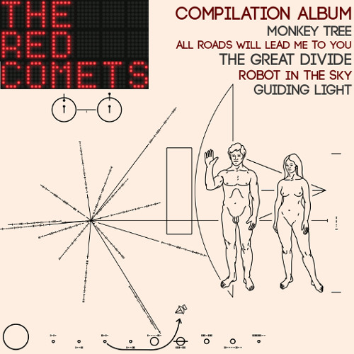 The Red Comets - New Album, 2016. Catchy, Melodic Alternative Rock / Indie Pop / Americana Music