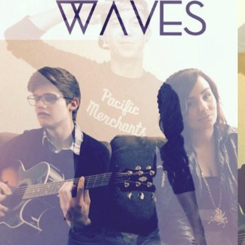 Waves cover stripped