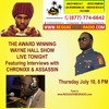 Chronixx & Assassin (Agent Sasco) Interviews on The Wayne Hall Show Reggae Vibes Radio July 10 2014